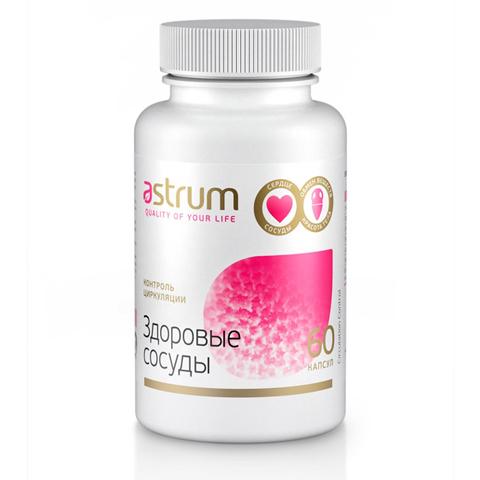 Astrum БАДы: Биодобавка Контроль циркуляции (Здоровые сосуды), 60капсул