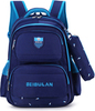 Рюкзак школьный Beibulan 1675 Синий + Пенал
