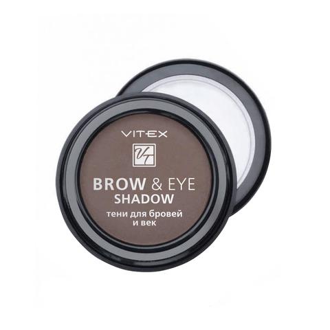 VITEX Тени для бровей и век BROW&EYE SHADOW  тон 13 Medium brown