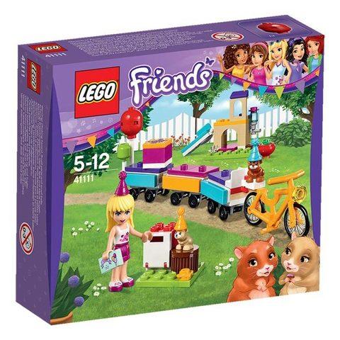 LEGO Friends: День рождения: Велосипед 41111 — Party Train — Лего Френдз Друзья Подружки