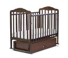 Детская кроватка с универсальным маятником СКВ Берёзка New венге