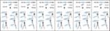 Трехсекционная универсальная лестница CORDA 3х9