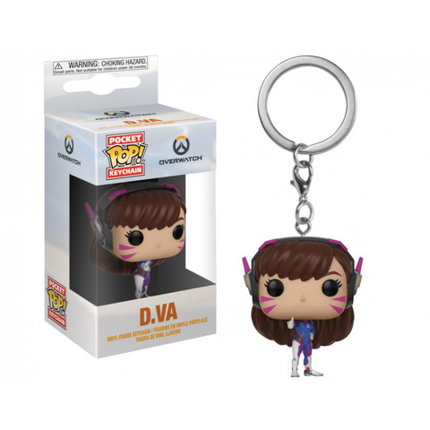 Брелок Дива || POP! Keychain Overwatch D.Va
