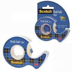 Скотч клейкая лента канцелярская 3M Scotch 183 невидимая 19 мм х 16.5 м (с диспенсером)