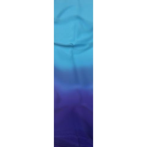 Шелковый шарф батик Сине-голубой С-21