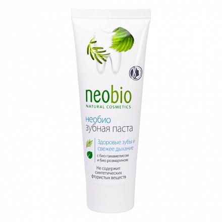 Зубная паста без фтора NeoBio, 75 мл