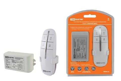 Комплект для беспроводного управления освещением ПУ2-МK-4 (4 канала)