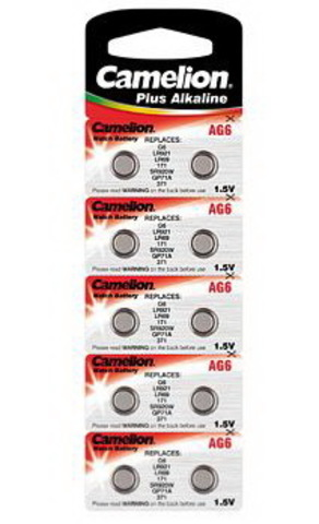 Батарейки Camelion AG 6 / 10 BL