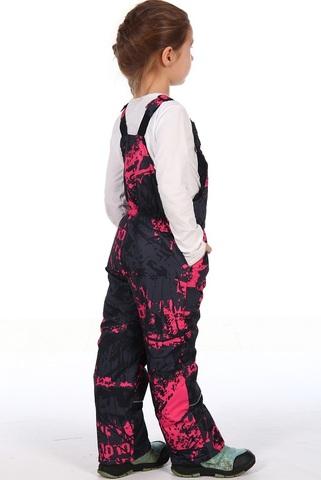 Костюм зимний детский Морозко розовый (мембранная ткань)