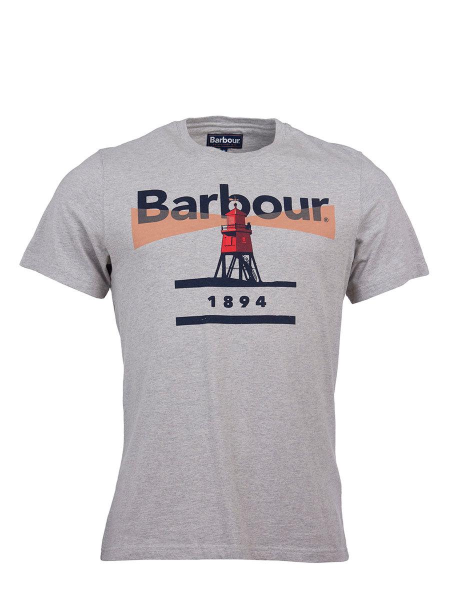 Barbour футболка Lighthouse 94 Tee MTS0375/GY52 - Фото 1