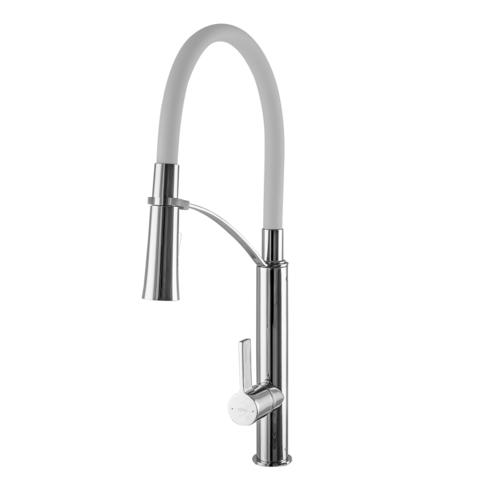 Смеситель для кухни TOPAZ SARDINIA TS 8817-H23-W-S