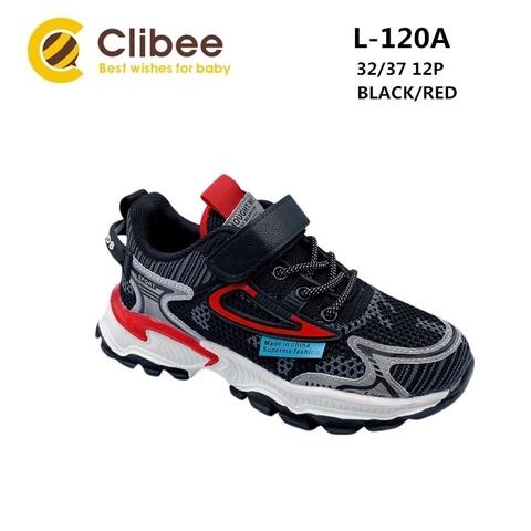 Clibee L120A Black/Red 32-37
