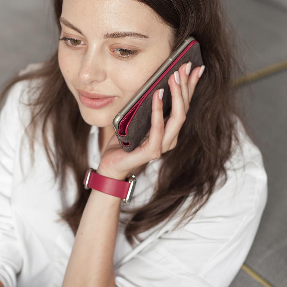 Case for iPhone SE - fushia