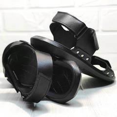 Мужские сандали босоножки спортивные Zlett 7083 Black.