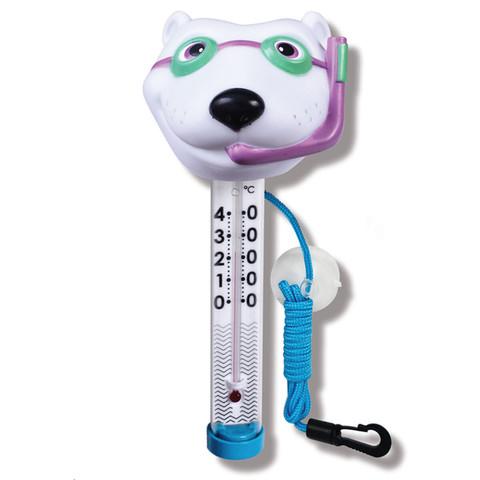 Термометр-игрушка Kokido TM07DIS/C Белый медведь / 22062