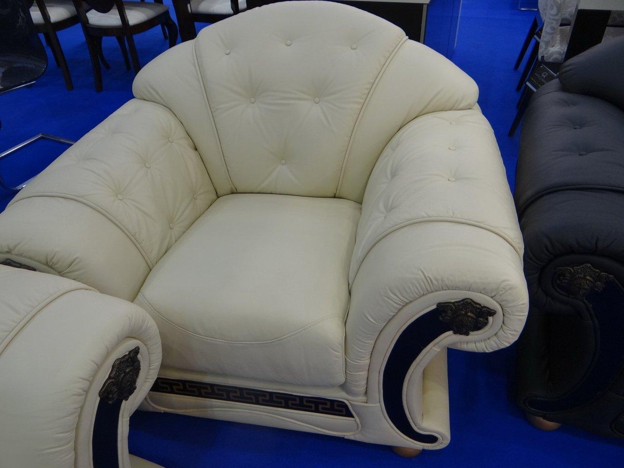 Кресло ESF Versace белый