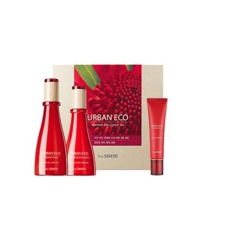 The Saem Urban Eco Waratah Skin Care Бьюти - набор для упругости кожи с экстрактом телопеи