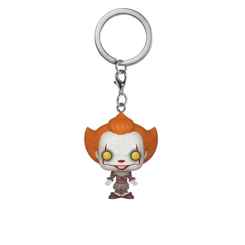 Брелок Funko Pocket POP! Keychain: IT Chapter 2: Pennywise w/ Open Arm 40653-PDQ
