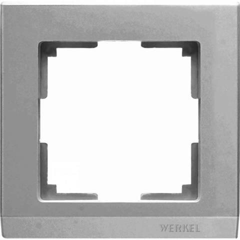Werkel Рамка W0011806 (WL04-Frame-01) серебро