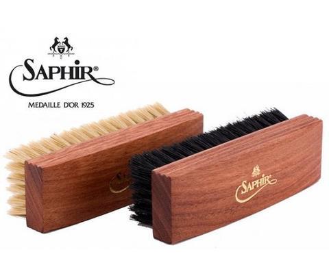 Щетка для полировки Saphir Medaille ,темная и светлая щетина