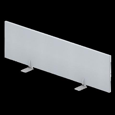 Экран меламин настольный фронтальный для отдельного стола