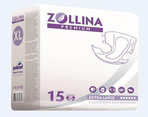 ZOLLINA Premium XL (до 175 см), подгузники памперсы для взрослых