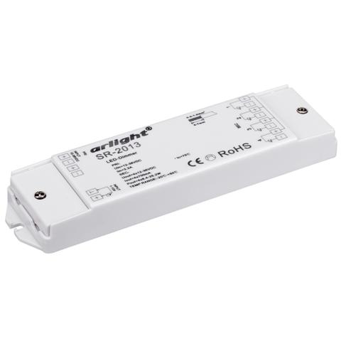 Диммер SR-2013 (12-36V, 4x700mA, 1-10V) (ARL, IP20 Пластик, 3 года)