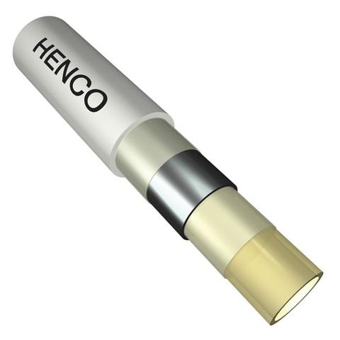 Henco RIXc 16х2.0 мм труба металлопластиковая в бухте 200 м. - 1 м.