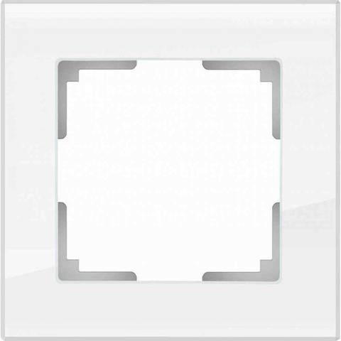 Werkel Рамка W0011101 (WL01-Frame-01) белое стекло