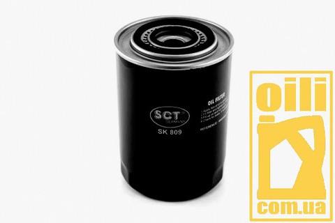 Фільтр масляний SCT SK809 (Citroen, Opel, Fiat, Iveco, Renault)