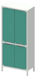 Шкаф лабораторный ШКа-2 АйЛаб Organizer (вариант 1)