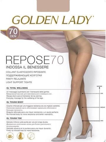 Женские колготки Repose 70 Golden Lady