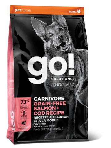 GO! CARNIVORE - для для щенков и собак c лососем и треской