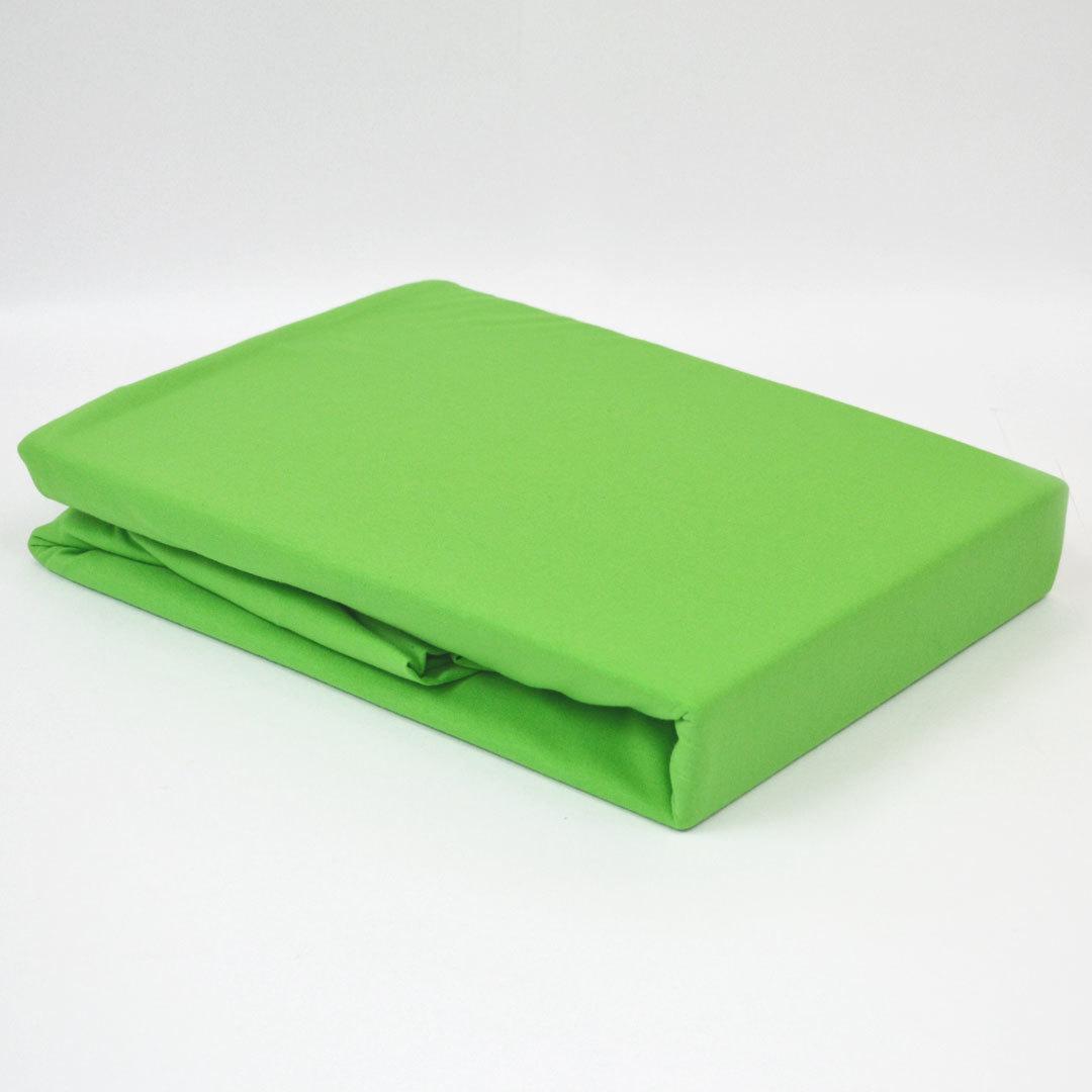 TUTTI FRUTTI лайм - Односпальная простыня на резинке