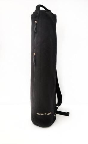 Черная сумка для йога коврика PRO