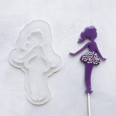 Форма силикон для леденцов Принцесса №2 №86 12 см