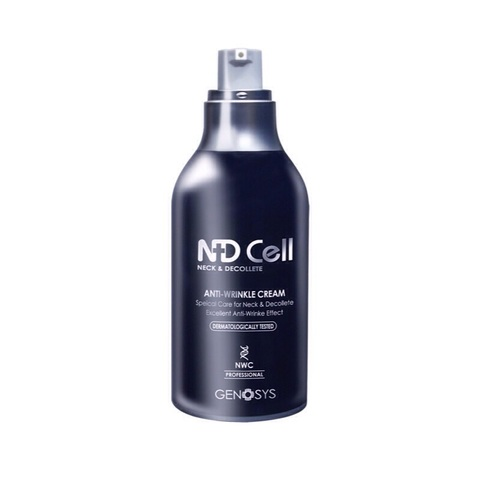 GENOSYS   Антивозрастной крем для шеи и зоны декольте / NDCell Anti-Wrinkle Cream, (50 мл)