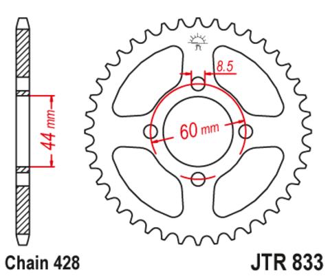 JTR833