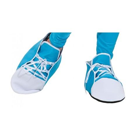 Имитация обуви -Кеды бирюзовые
