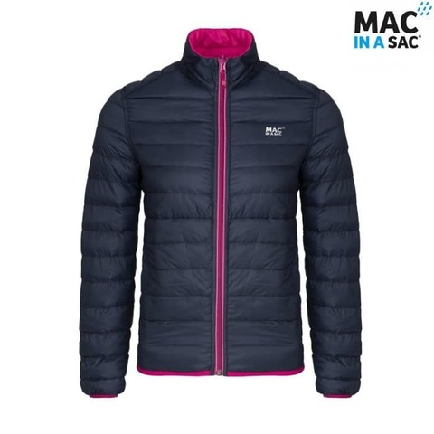 Пуховик Polar down jacket Navy Mac in a Sac