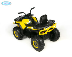 Электро квадроцикл BARTY Т007МР желтый