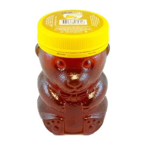 Мёд натуральный «Дягилевый» ПЭТ медведь, 450 гр