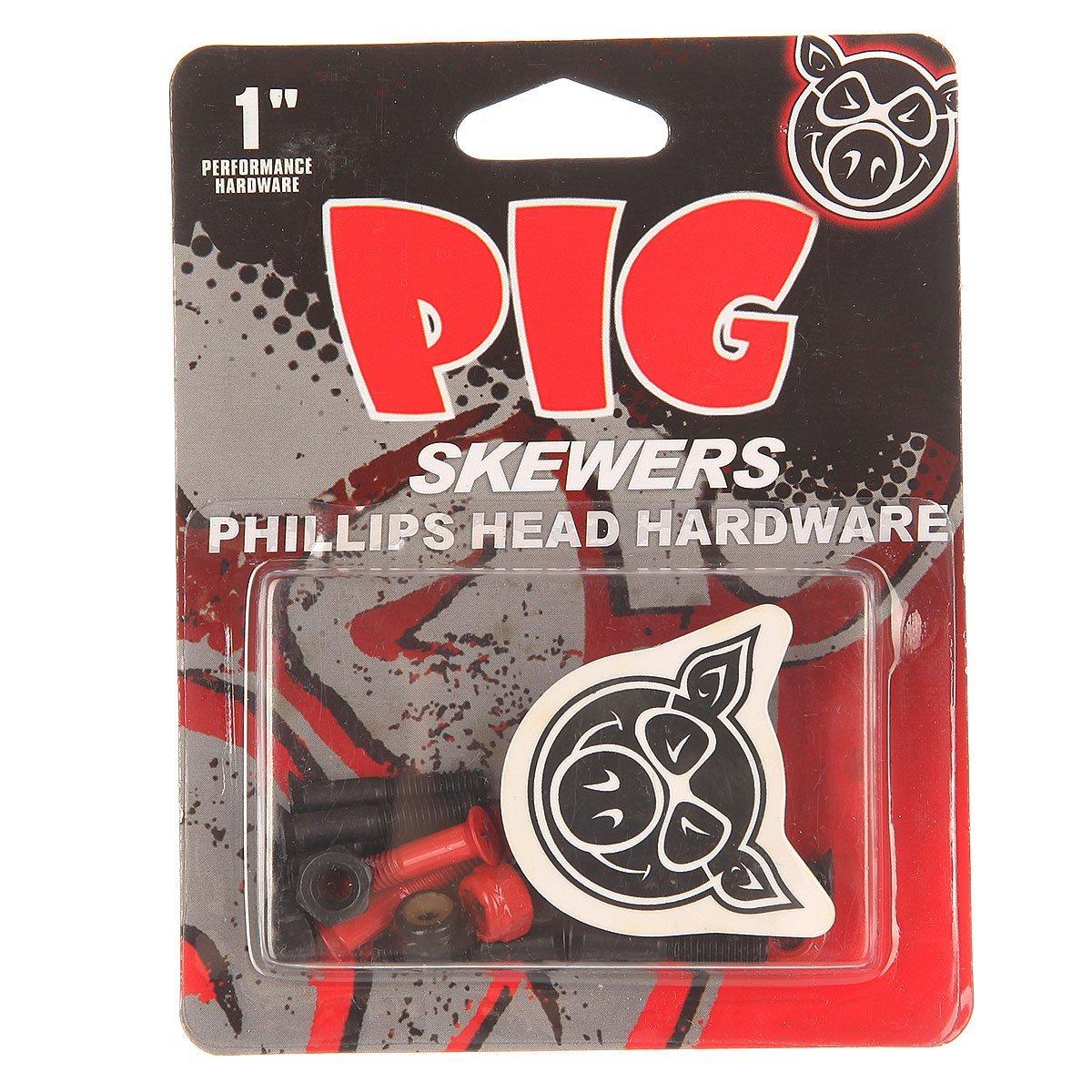 Болты для скейтборда PIG Red Skewers Phillips