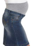 Юбка для беременных 06529 синий