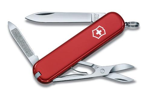 Нож перочинный VICTORINOX Ambassador, 74 мм, 7 функций, красный VC- 0.6503