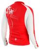 Рубашка Noname Flora 13, red/white, wo's