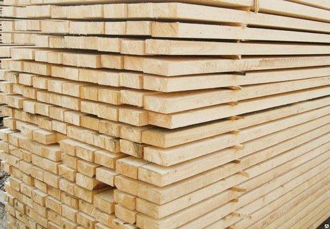 Доска обрезная 50х100х6000 мм, сорт 1, свежий лес, ГОСТ