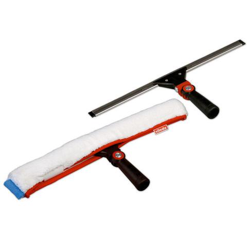 Комплект для мытья окон Vileda Professional Эволюшн (склиз 45 см, щетка с насадкой-шубкой из микроволокна 45 см, арт. производителя 526472)