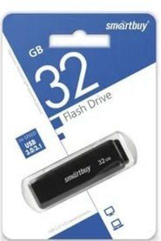 Флеш-накопитель USB 3.0  32GB  Smart Buy LM05 чёрный