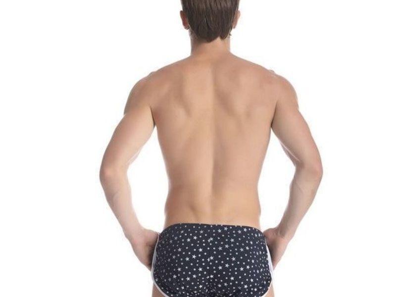 Мужские шорты синие со звездами Gillbro Navy Stars Shorts